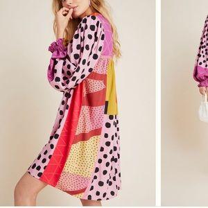 Anthropologie NWT Bl-nk Miranda Tunic Dress SizeXS